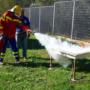 addestramento antincendio aivvfc ottobre 2016