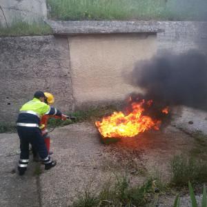addestramento antincendio alessandria del carretto