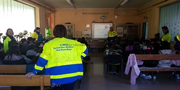Attività di formazione nelle scuole